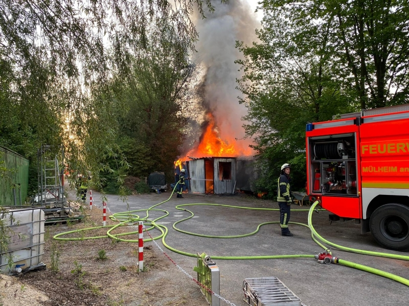 Brand Mülheim An Der Ruhr