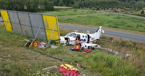 Flugzeugabsturz Einsatzbericht Arnsberg Menden