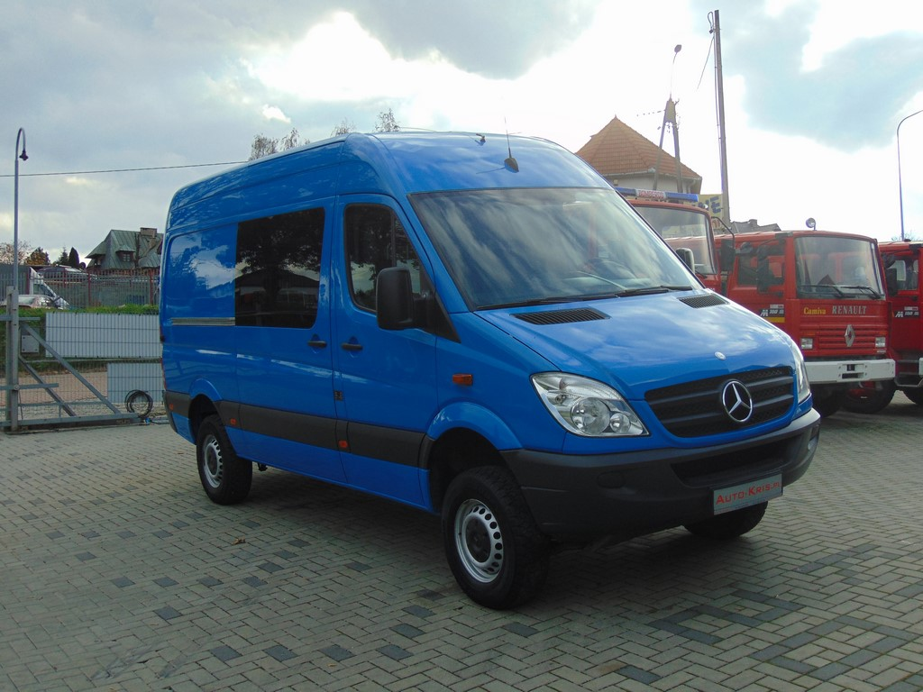 4x4 mercedes benz sprinter 316 cdi 4x4 w906 allrad 1 hand. Black Bedroom Furniture Sets. Home Design Ideas