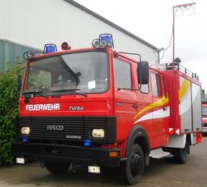 Merkel Feuerwehr